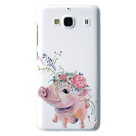 Redmi 2 Cases - Pearl the Pig - Live Sweet Series