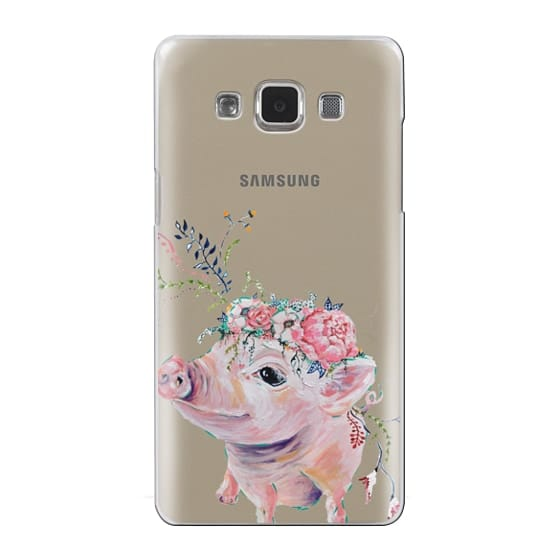 Samsung Galaxy A5 Cases - Pearl the Pig - Live Sweet Series
