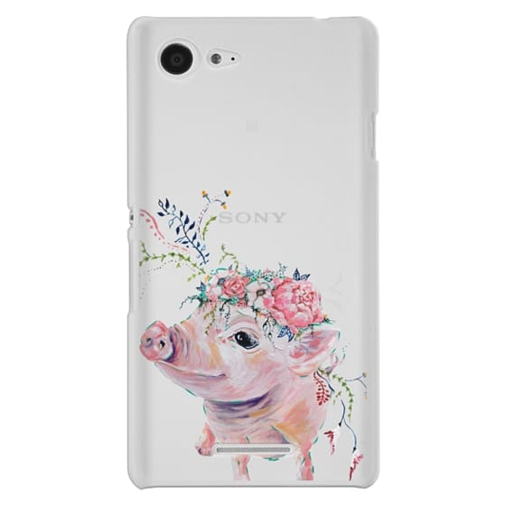 Sony E3 Cases - Pearl the Pig - Live Sweet Series