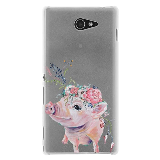 Sony M2 Cases - Pearl the Pig - Live Sweet Series