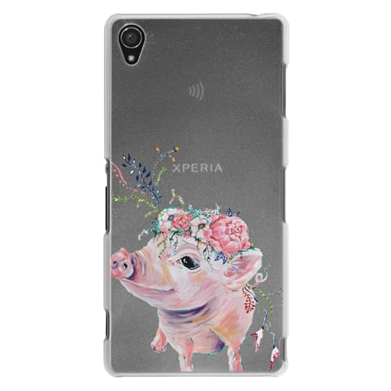 Sony Z3 Cases - Pearl the Pig - Live Sweet Series