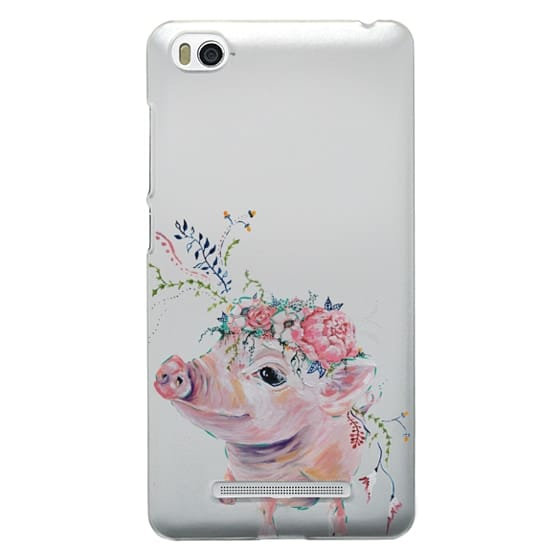 Xiaomi 4i Cases - Pearl the Pig - Live Sweet Series