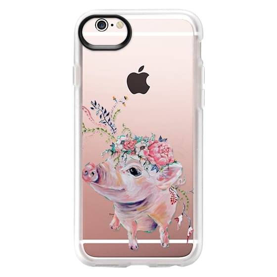 iPhone 6s Cases - Pearl the Pig - Live Sweet Series