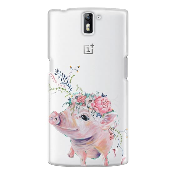 One Plus One Cases - Pearl the Pig - Live Sweet Series