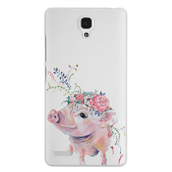 Redmi Note Cases - Pearl the Pig - Live Sweet Series