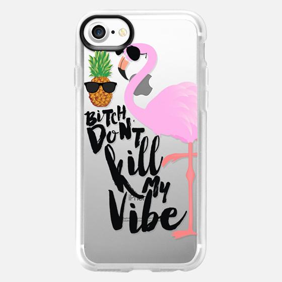 Flamingo Vibe - Wallet Case