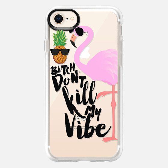 Flamingo Vibe - Snap Case