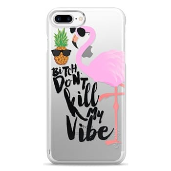 Snap iPhone 7 Plus Case - Flamingo Vibe