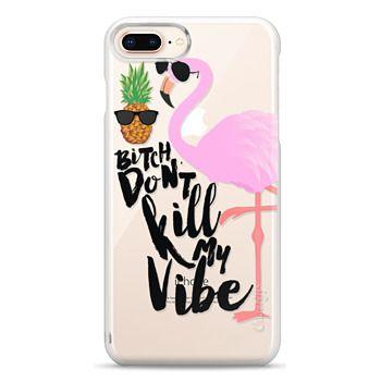 Snap iPhone 8 Plus Case - Flamingo Vibe