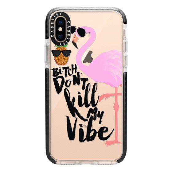 iPhone XS Cases - Flamingo Vibe