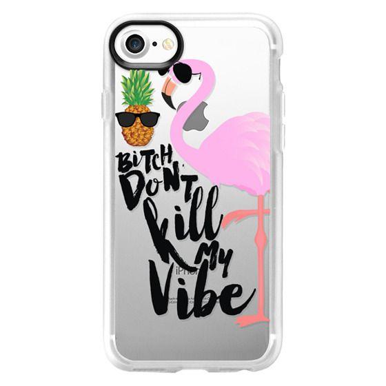 iPhone 7 Cases - Flamingo Vibe