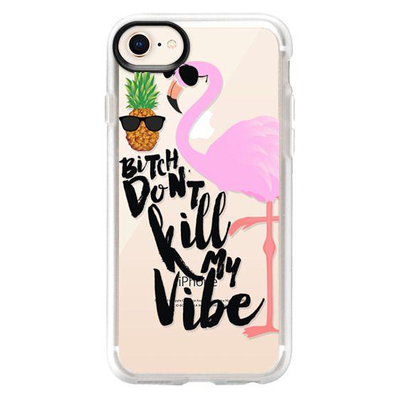iPhone 8 Cases - Flamingo Vibe