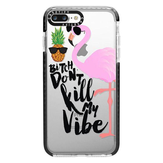 iPhone 7 Plus Cases - Flamingo Vibe