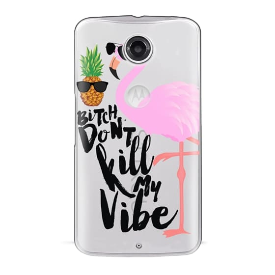 Nexus 6 Cases - Flamingo Vibe