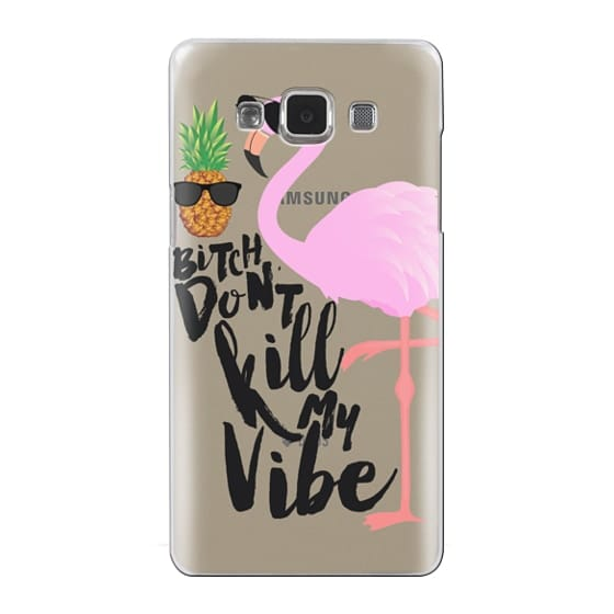 Samsung Galaxy A5 Cases - Flamingo Vibe