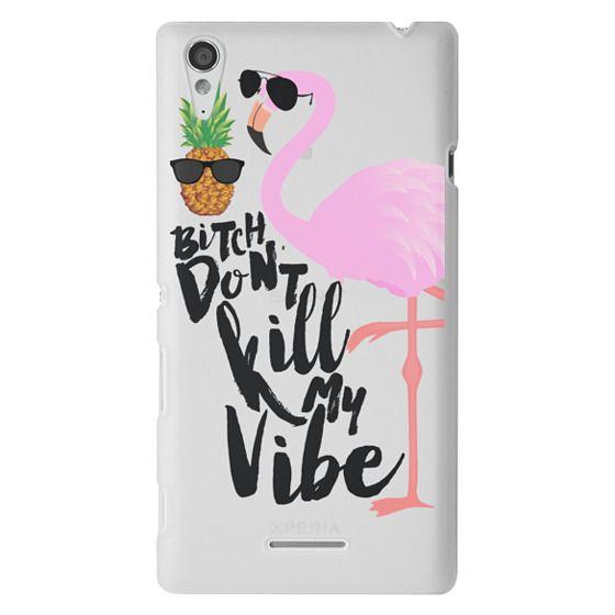 Sony T3 Cases - Flamingo Vibe