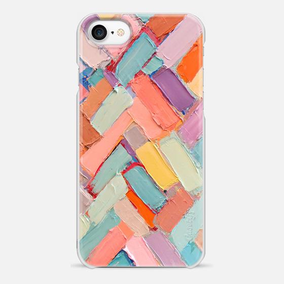 iPhone 7 Case - Peachy Internodes