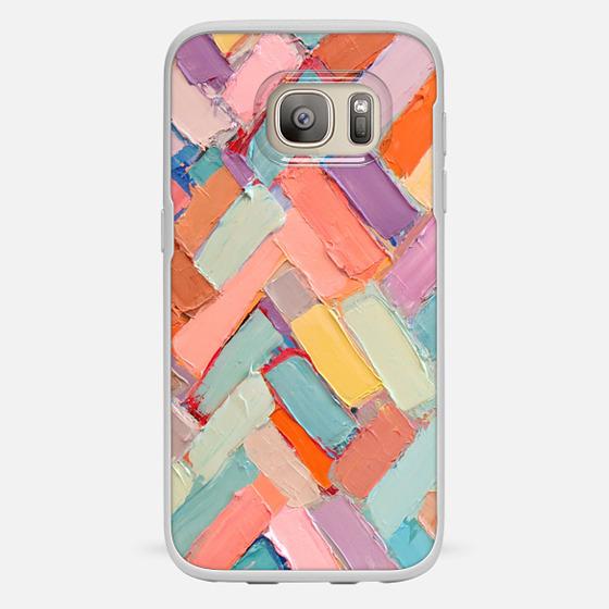 Galaxy S7 Case - Peachy Internodes