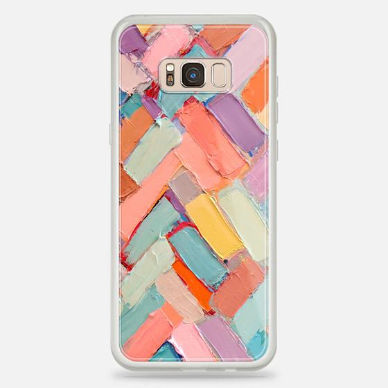 Galaxy S8+ Case - Peachy Internodes