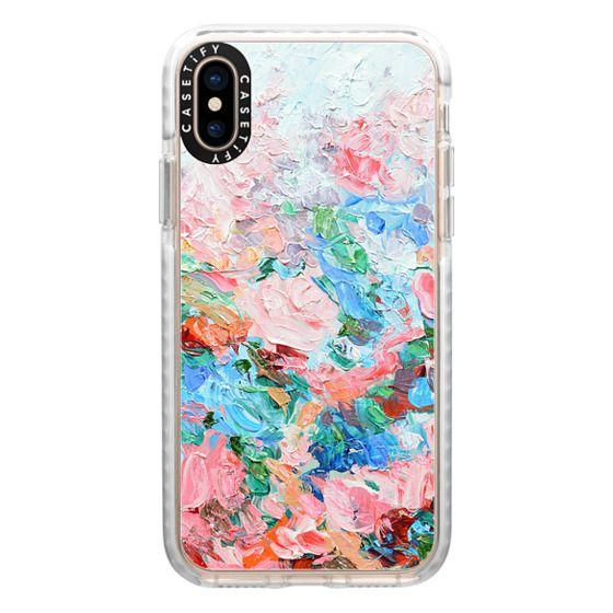 iPhone XS Cases - La Vie en Rose