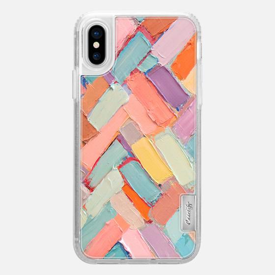 iPhone X 保護殼 - Peachy Internodes