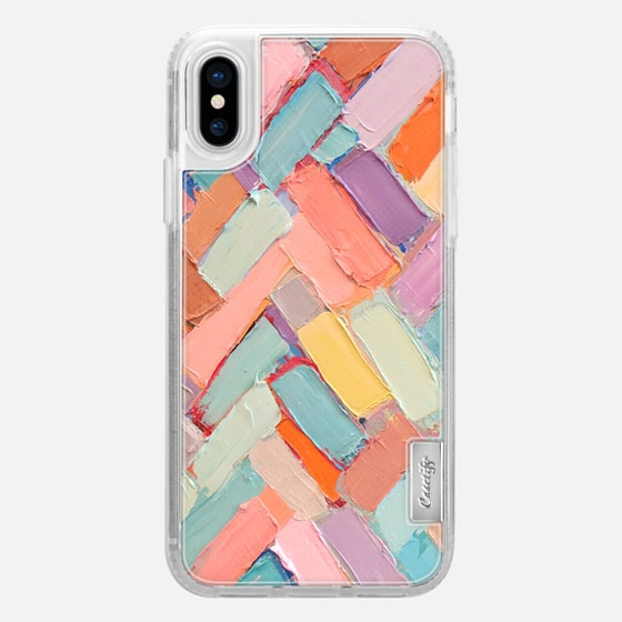 iPhone X Coque - Peachy Internodes