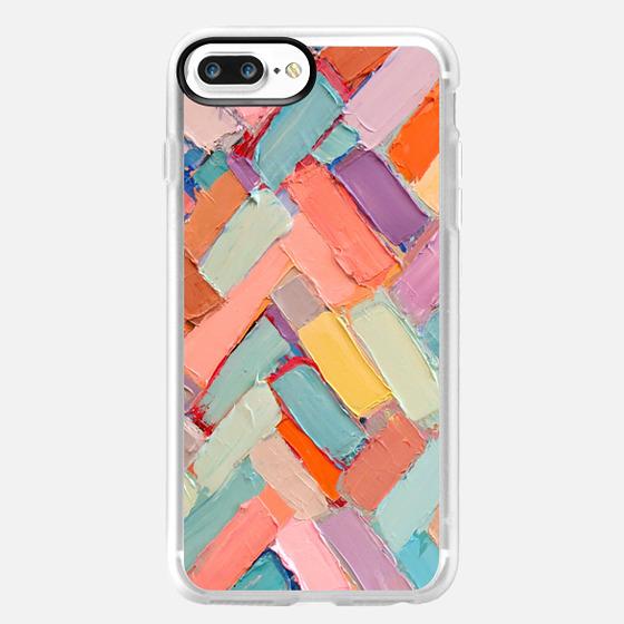 iPhone 7 Plus Coque - Peachy Internodes