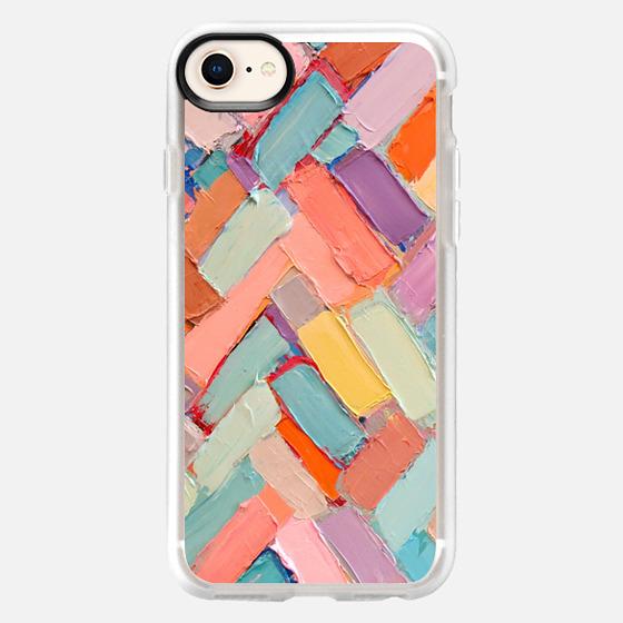 iPhone 8 保護殼 - Peachy Internodes