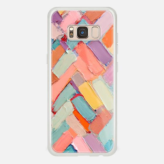 Galaxy S8 Coque - Peachy Internodes
