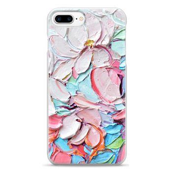 Snap iPhone 7 Plus Case - Cherry Blossom Petals