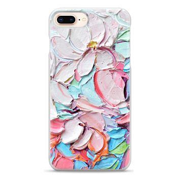 Snap iPhone 8 Plus Case - Cherry Blossom Petals