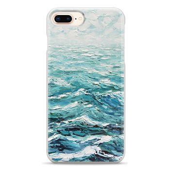 Snap iPhone 8 Plus Case - Windswept Sea
