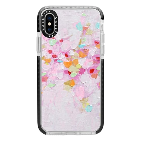 iPhone X Cases - Carnival Rosa