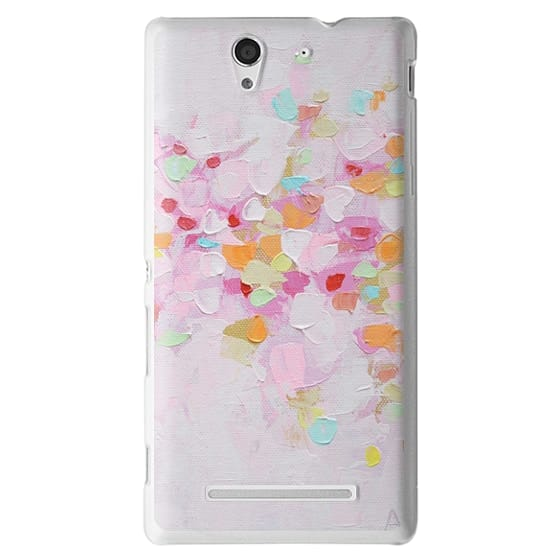 Sony C3 Cases - Carnival Rosa
