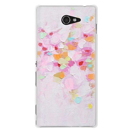 Sony M2 Cases - Carnival Rosa