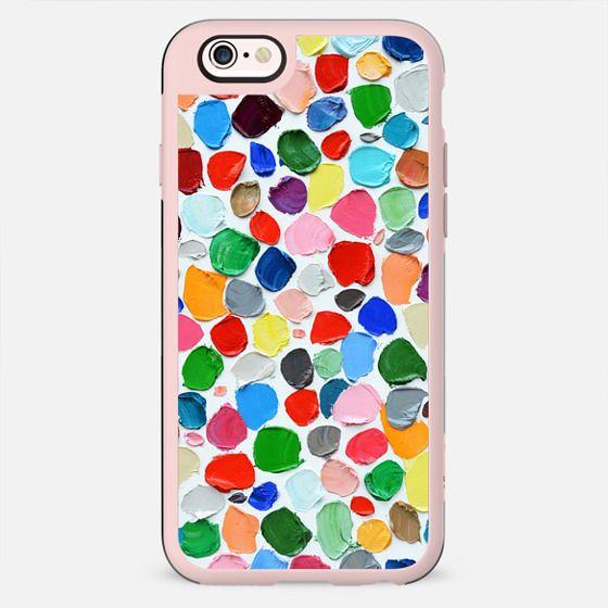Polka Daub Pebbles - New Standard Case