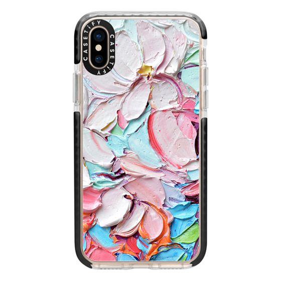 iPhone XS Cases - Cherry Blossom Petals