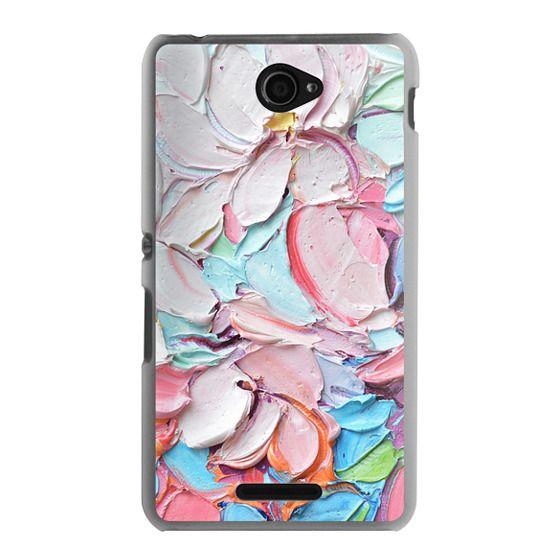 Sony E4 Cases - Cherry Blossom Petals