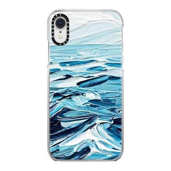 iPhone XR Cases - Waves Crashing