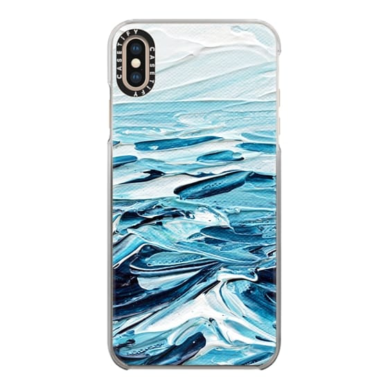 iPhone XS Max Cases - Waves Crashing