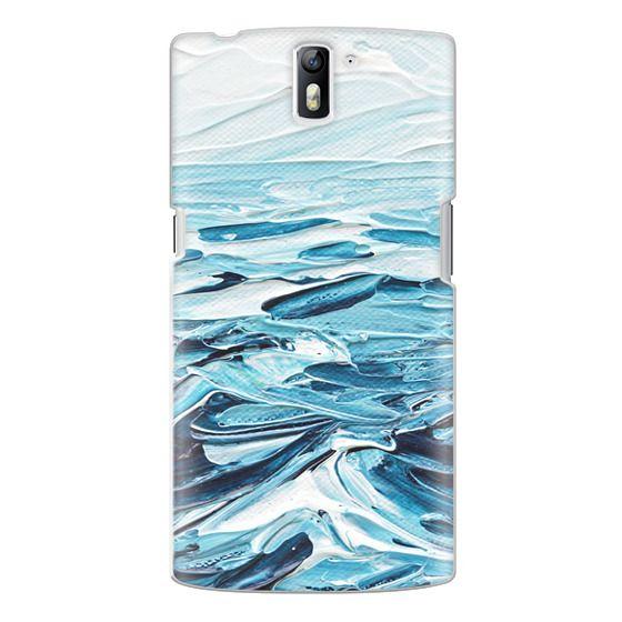 One Plus One Cases - Waves Crashing