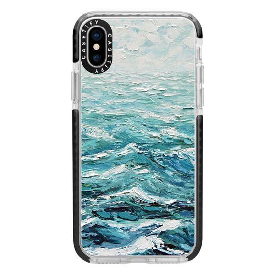 iPhone X Cases - Windswept Sea