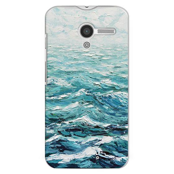Moto X Cases - Windswept Sea