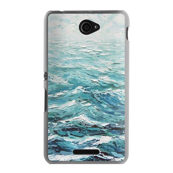 Sony E4 Cases - Windswept Sea