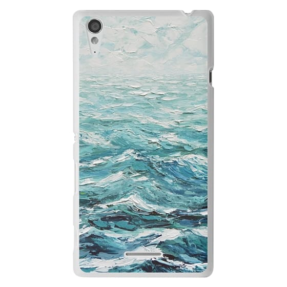 Sony T3 Cases - Windswept Sea