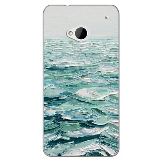 Htc One Cases - Minty Sea