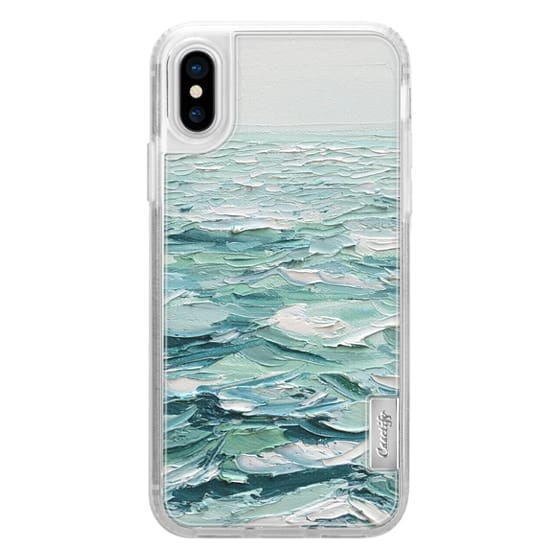 iPhone X Cases - Minty Sea
