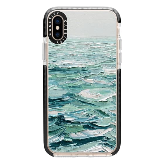 iPhone XS Cases - Minty Sea
