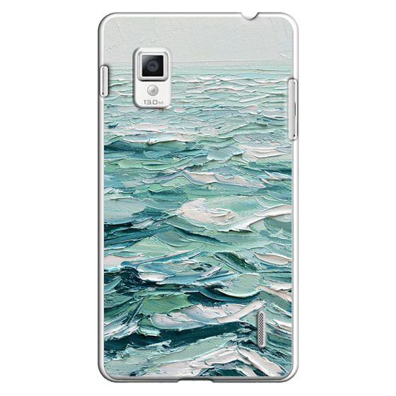 Optimus G Cases - Minty Sea