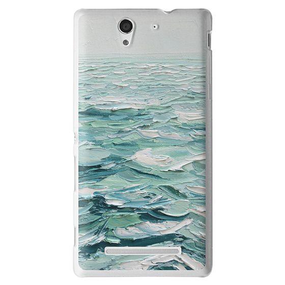 Sony C3 Cases - Minty Sea